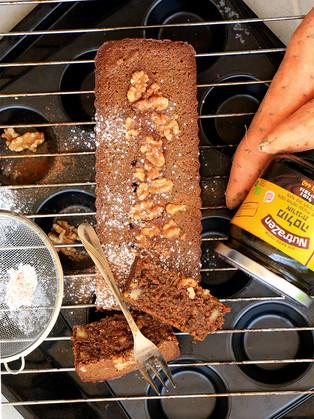 עוגת בטטה ומולסה מקמח שיבולת שועל ללא גלוטן