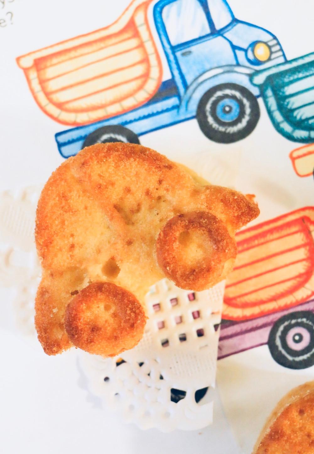 עוגת וניל בריאה לילדים