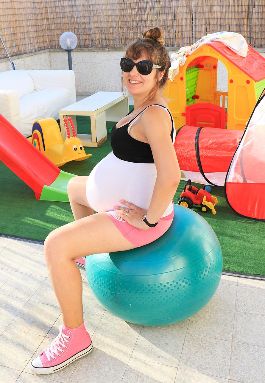 יוגה בהריון