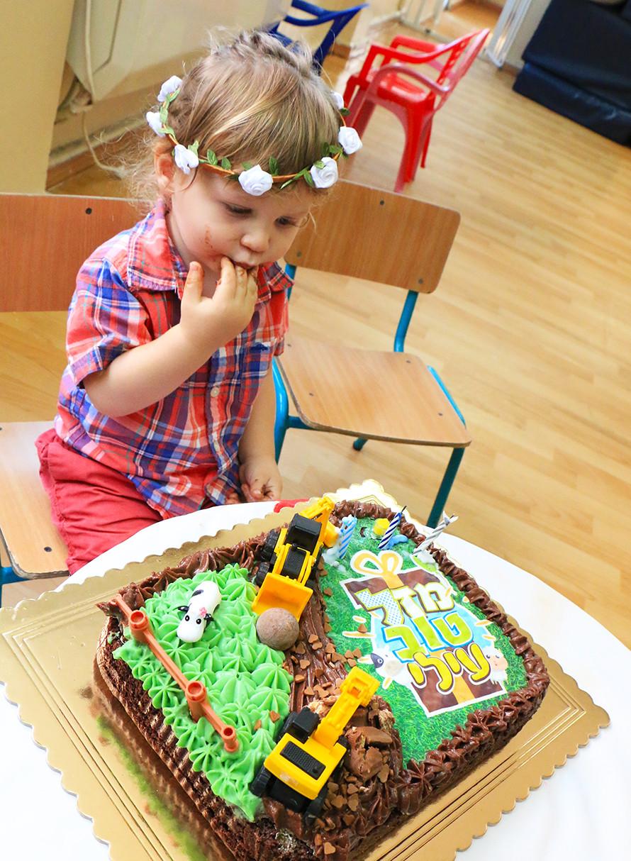 עוגת יום הולדת לילדים בריאה
