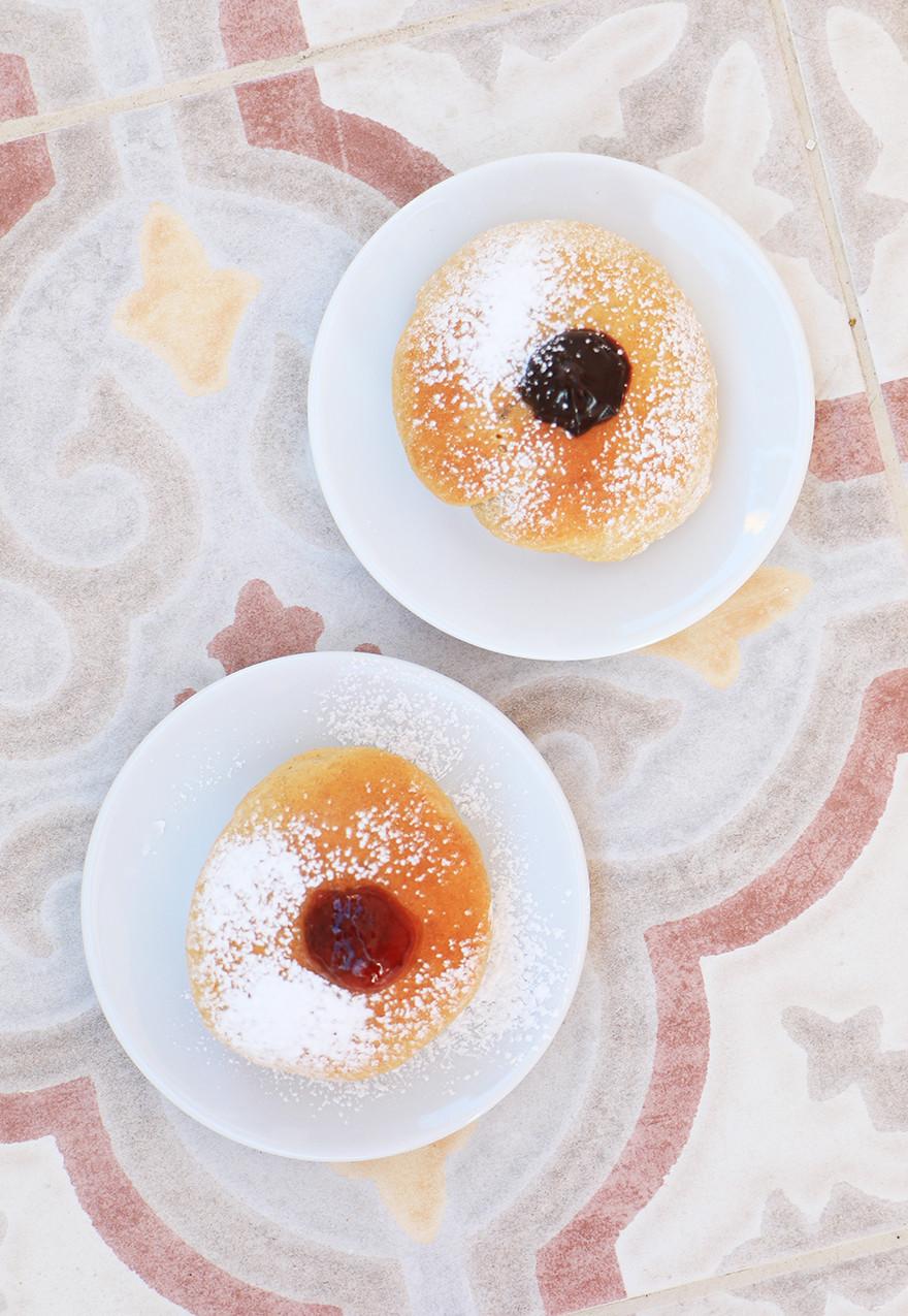 סופגניות בריאות לחנוכה מקמח כוסמין