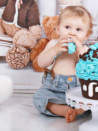עוגת יומולדת שוקולד לילדים מקמח כוסמין / שיפון