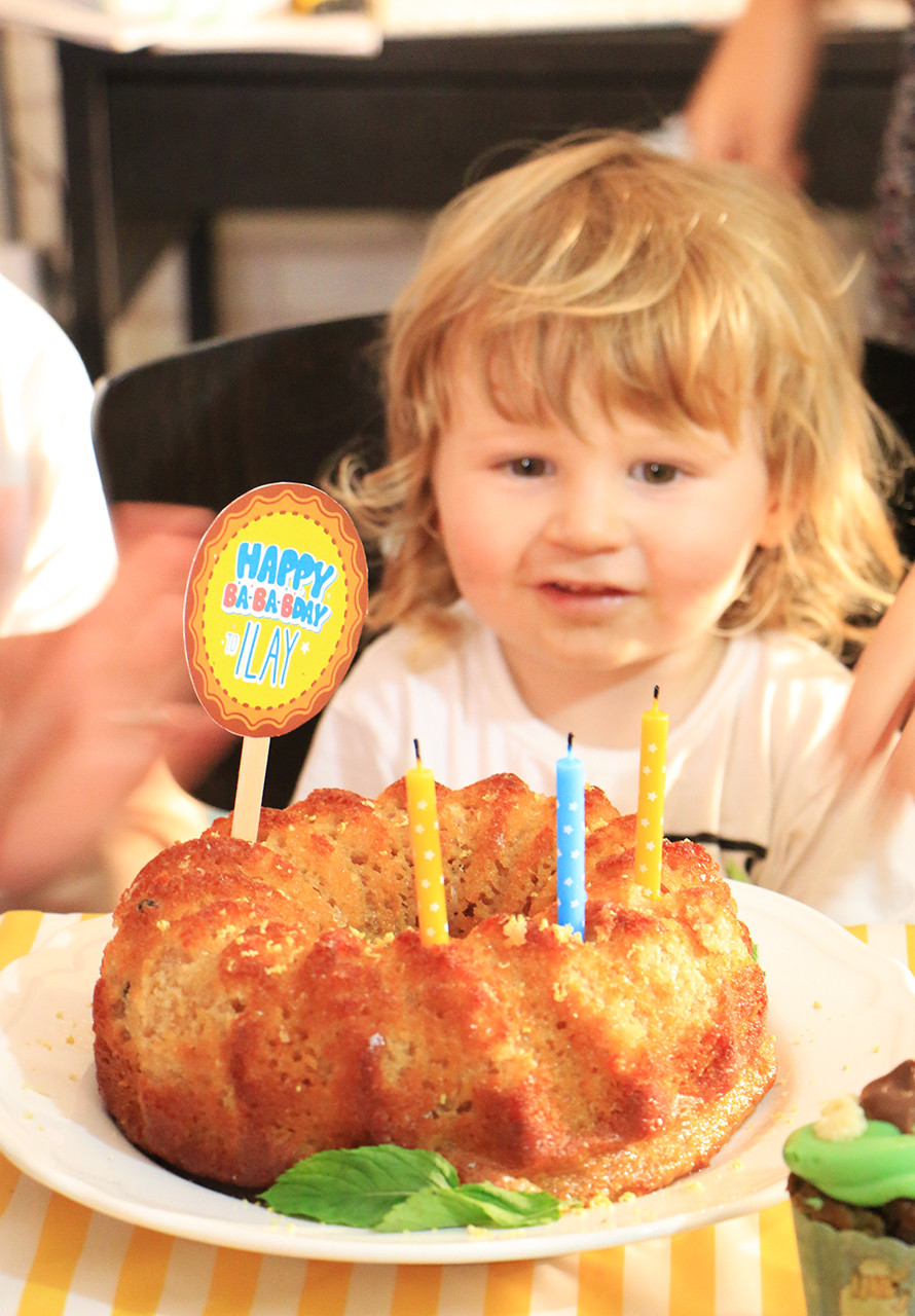 עוגת יומולדת בריאה