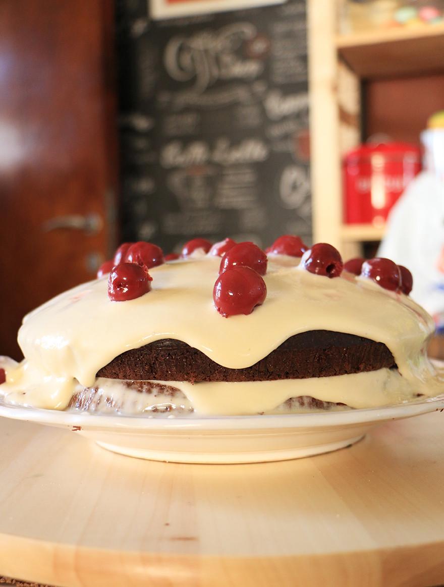 עוגת שוקולד בריאה
