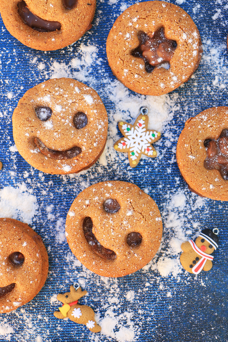 עוגיות אגוזי לוז ללא גלוטן