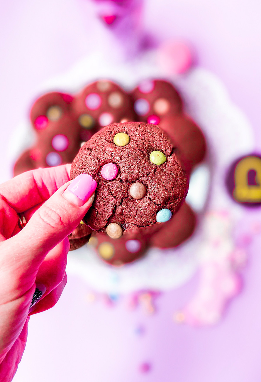 עוגיות שוקולד עדשים בריאות לילדים