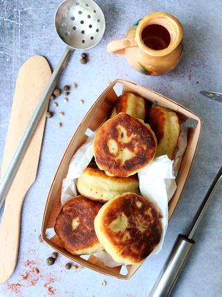 קציצות תפוחי אדמה במילוי פטריות