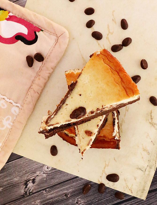 עוגת גבינה שוקולד