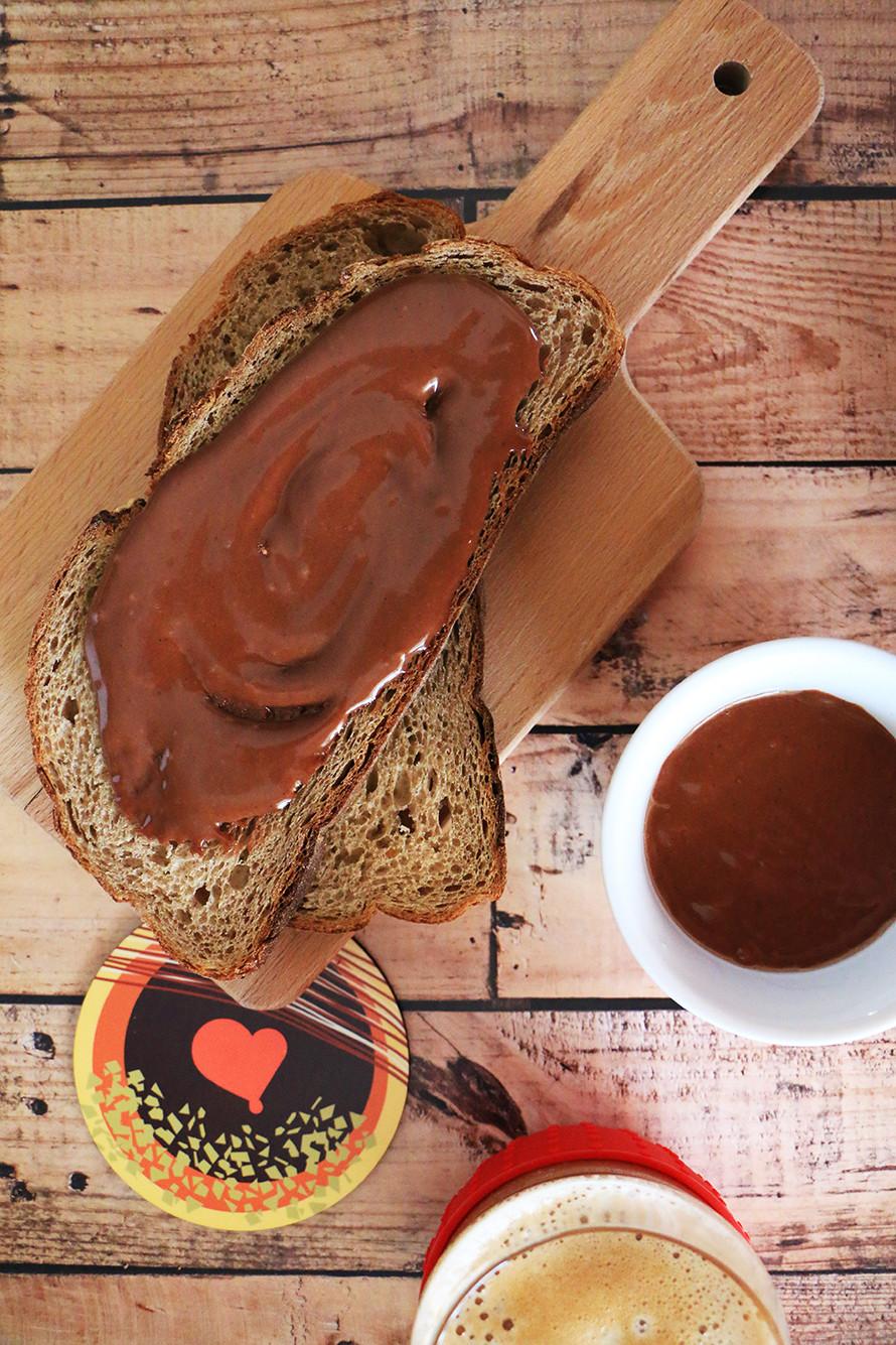 ממרח שוקולד ביתי בריא