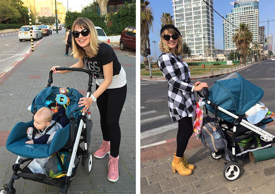 פעילות גופנית אחרי לידה