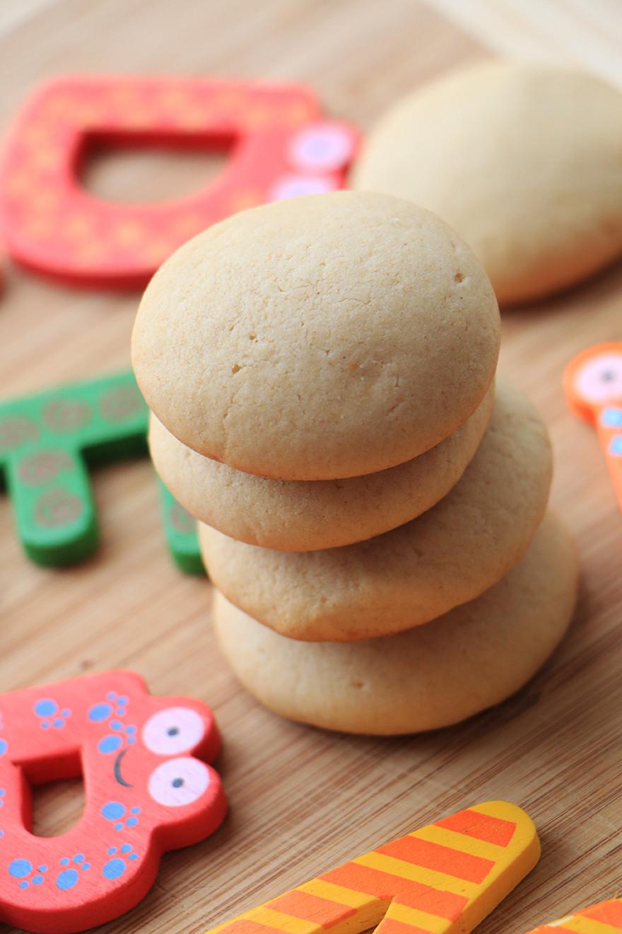עוגיות כוסמין וחמאה לילדים