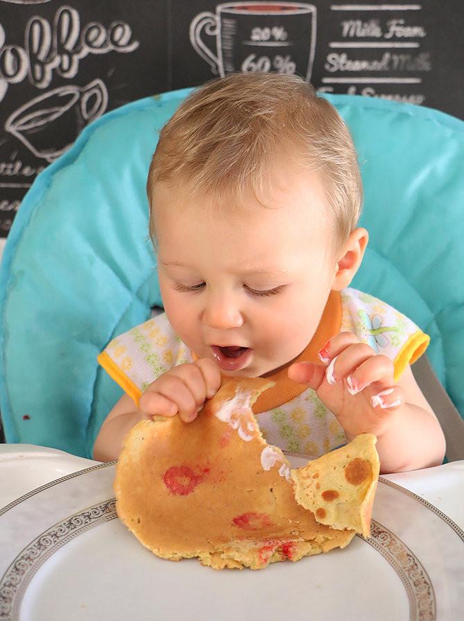 פנקייק דגנים לתינוקות
