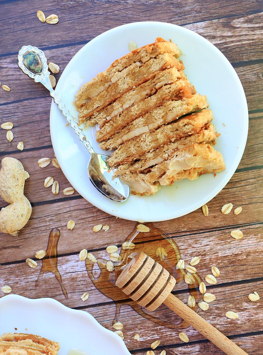 עוגת דבש בריאה לראש השנה