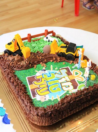 עוגת שוקולד בריאה לימי הולדת