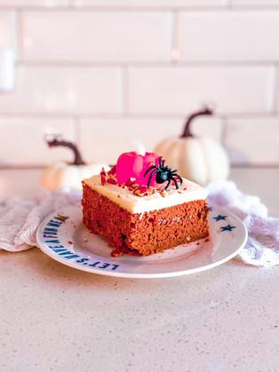 עוגת דלעת טעימה לחורף בריא וטעים מקמח קינואה