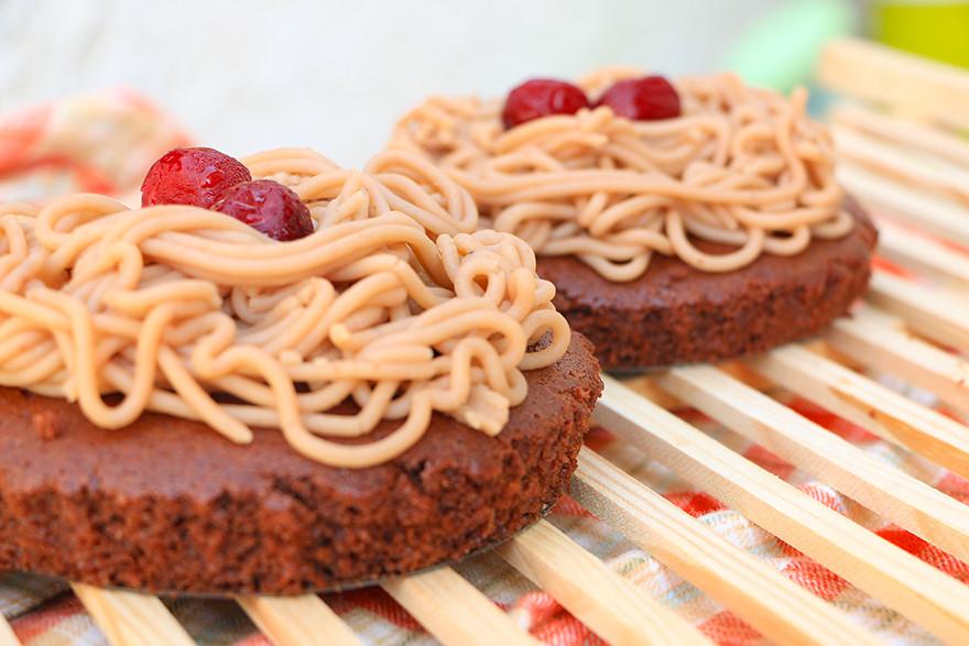 עוגת ערמונים מקמח כוסמין