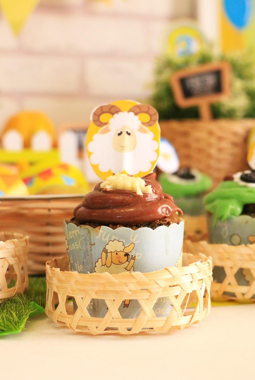מאפינס שוקולד צ׳יפס מקמח שקדים ושיבולת שועל
