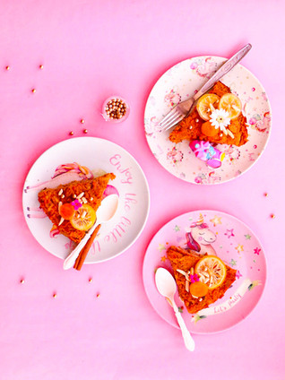 עוגת גזר, אגוזים ומשמשים ללא גלוטן לכבוד פסח