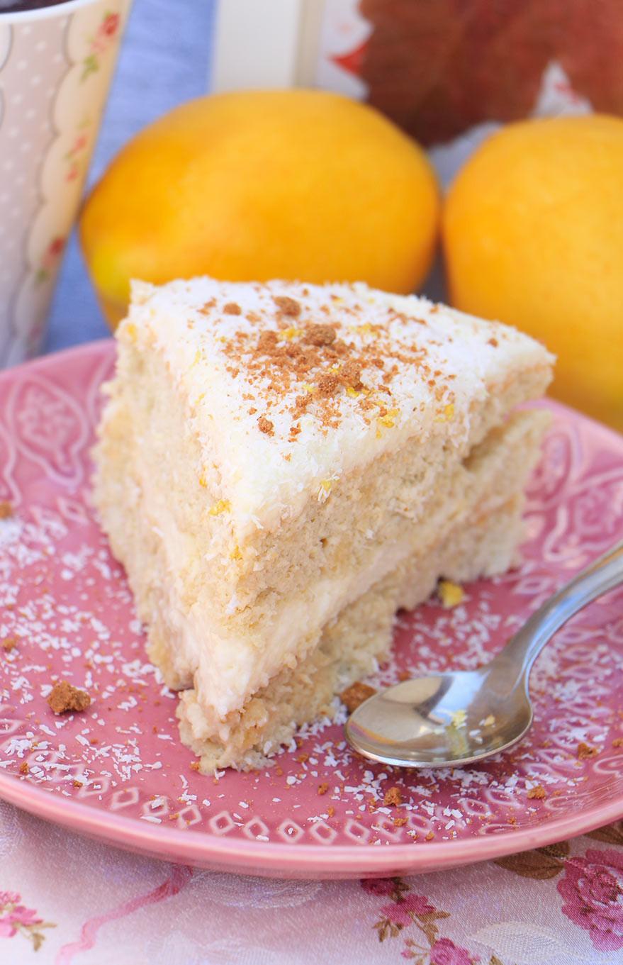 עוגה ללא קמח עם קוקוס לפסח