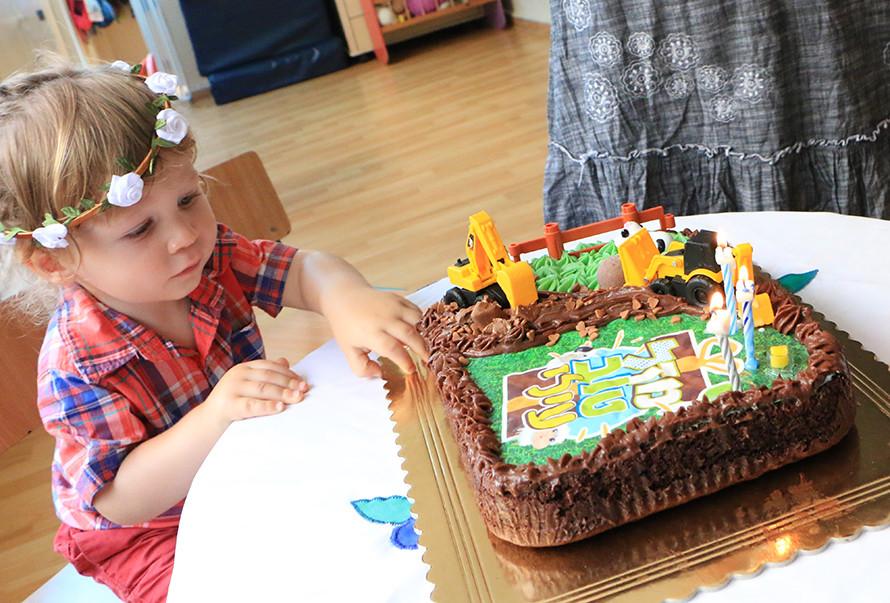 עוגת יומולדת בריאה לילדים