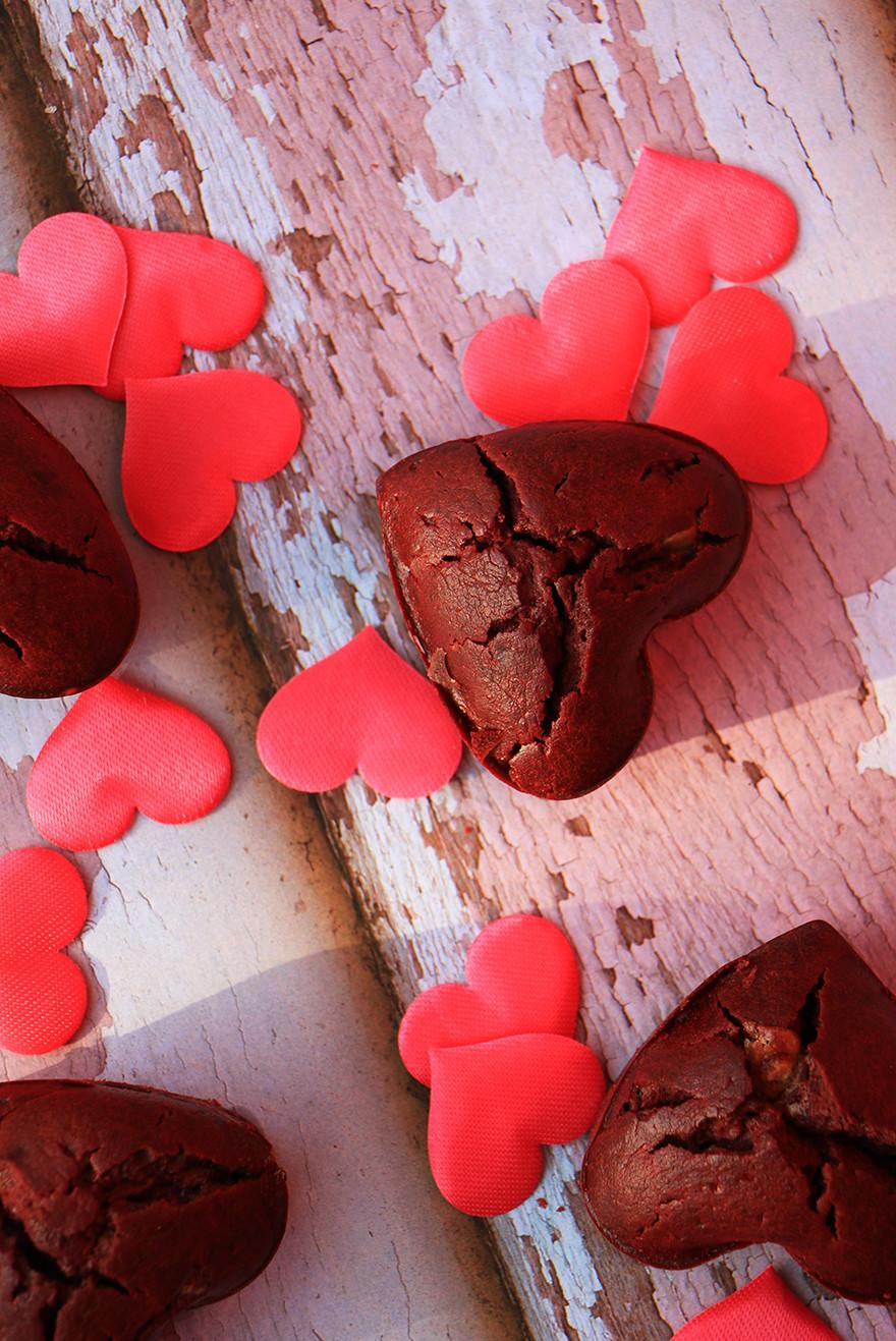 מאפינס שוקולד לחג האהבה