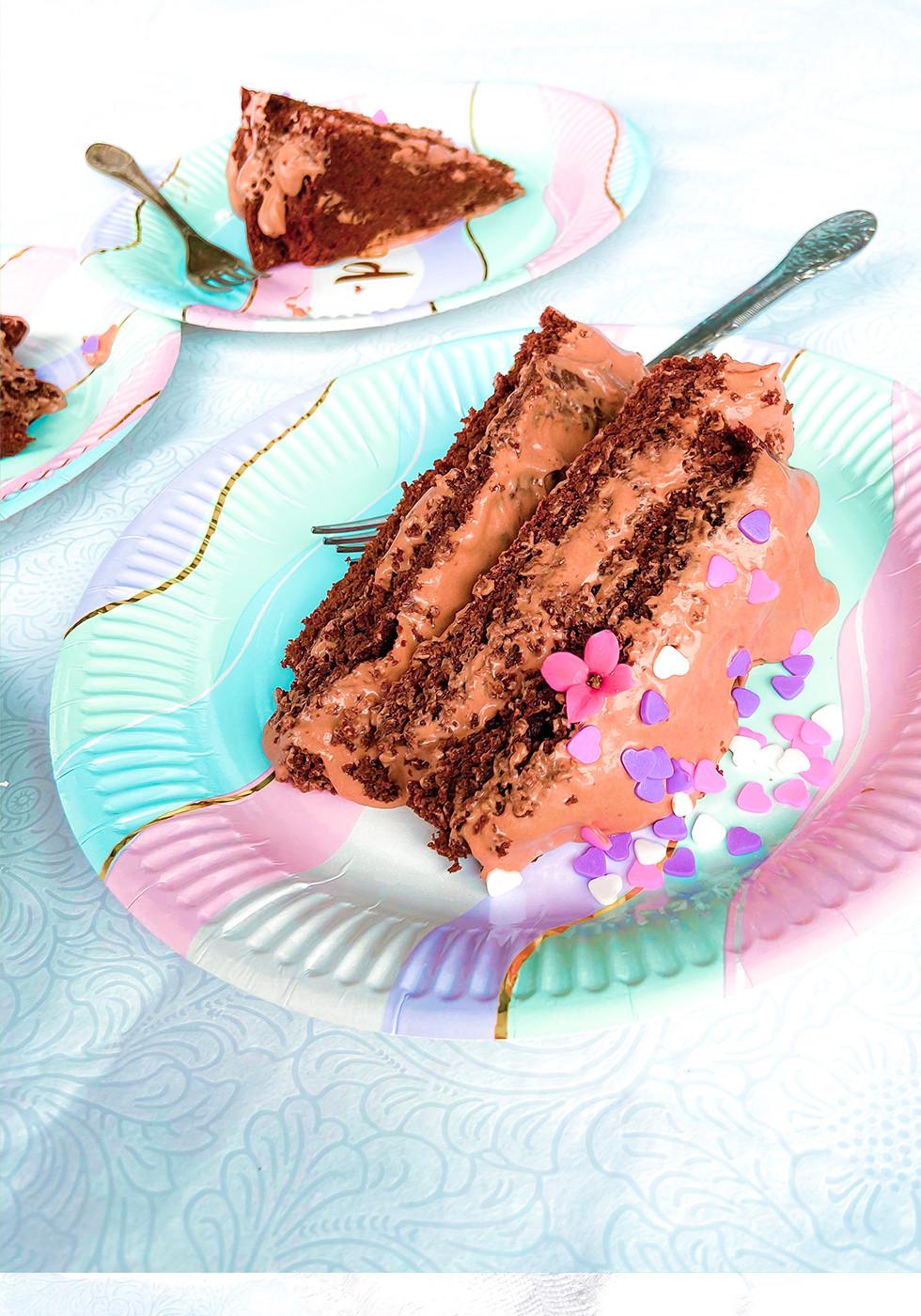 עוגת שוקולד ללא גלוטן לפסח