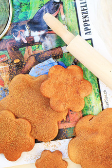עוגיית / דובשניית ביבר מקמח כוסמין ושקדים