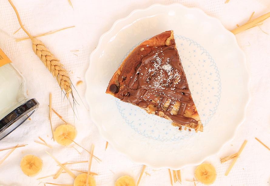 עוגת גבינה ריקוטה ושוקולד צ׳יפס לשבועות