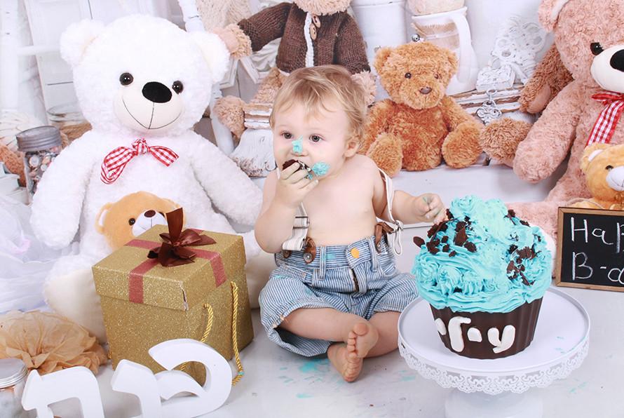עוגת שוקולד יום הולדת בריאה