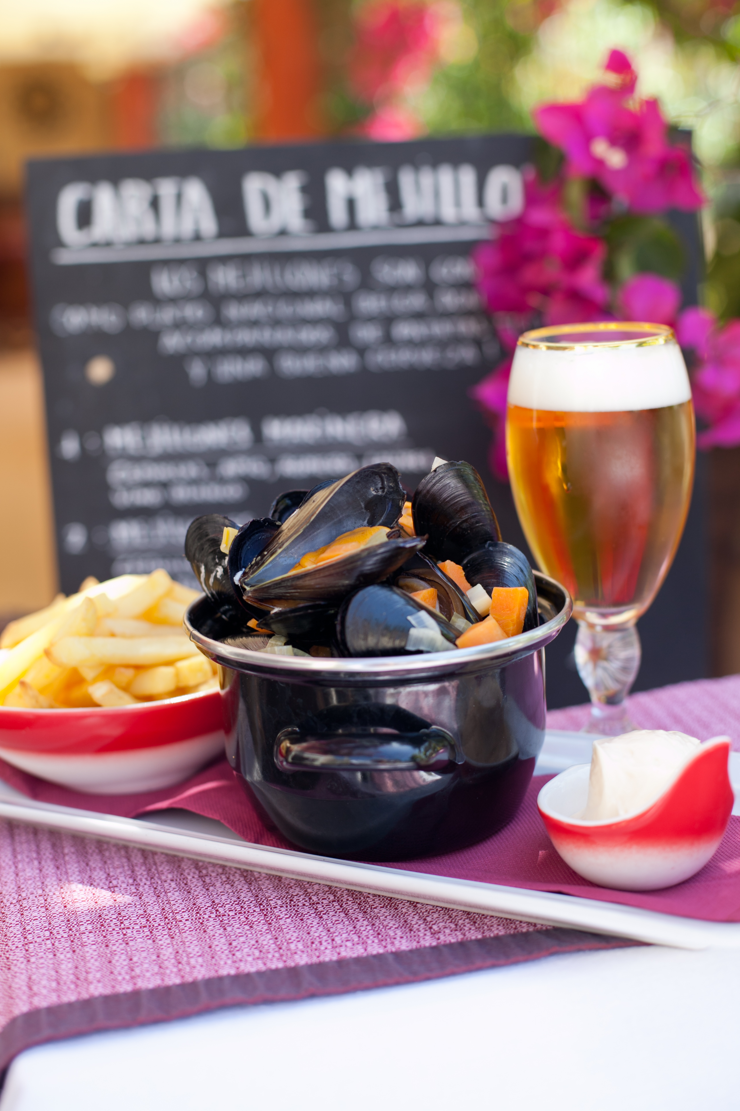 Moules and frites