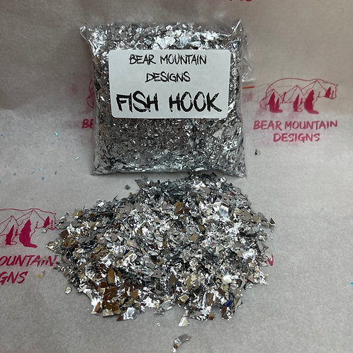 Fish Hook - Sequin Flakes
