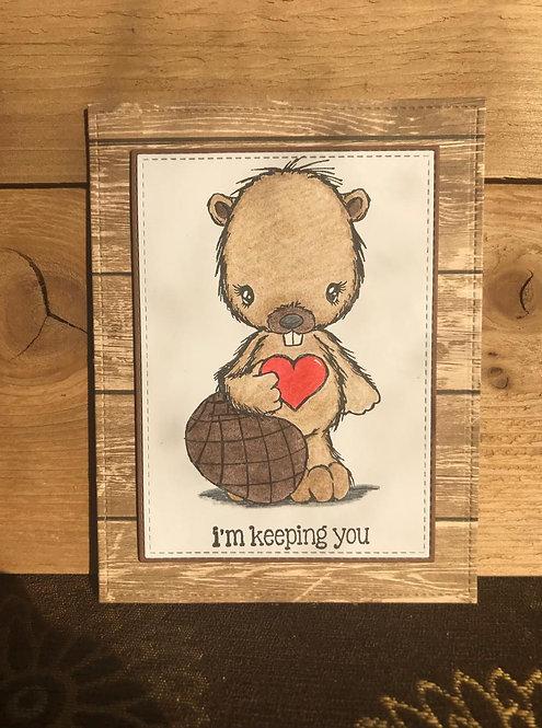 Beaver - Greeting Card