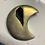 Thumbnail: Druzy Moons - Set of 3
