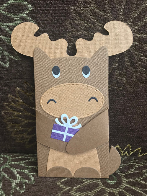 Moose - Gift Card Holder