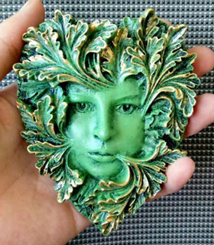 Leaf Goddess Mold