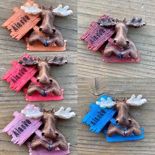 Alaska Moose Magnet
