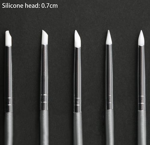 Small Tip Silicone Brush Set