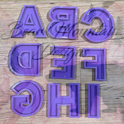 Individual 4 Inch Letters