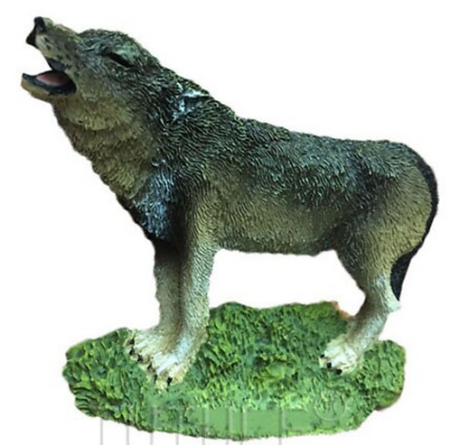 Realistic Wolf Mold