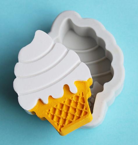 Single Ice Cream Cone Mold
