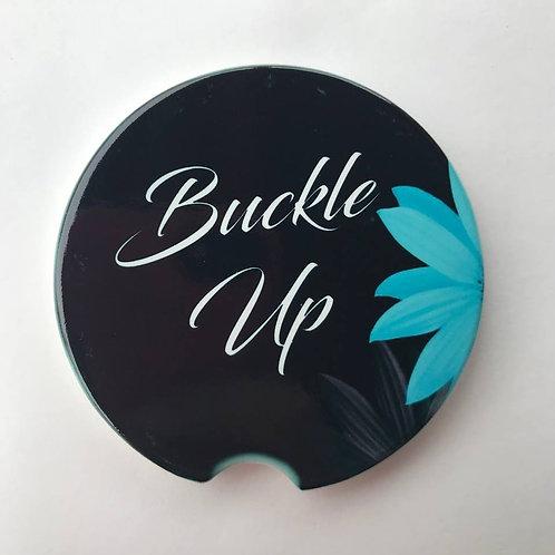 Buckle Up - Car Coaster