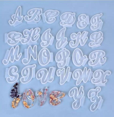Cursive Alphabet Set