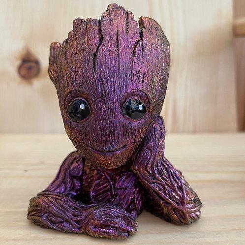 Purple Chrome Groot