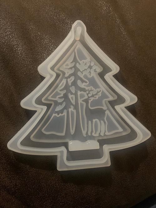 Deer Tree Ornament