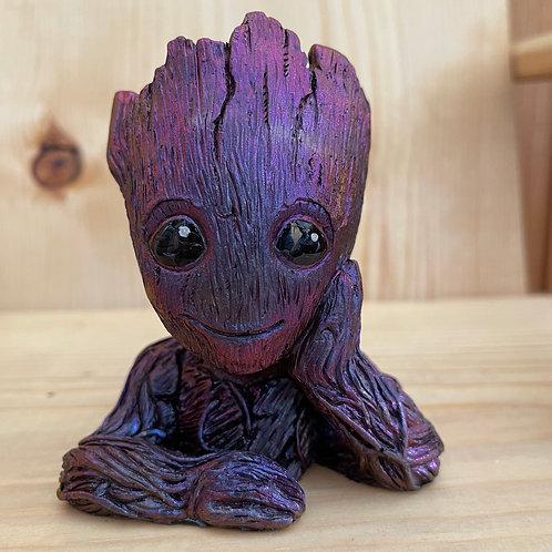 Purple/Black Colorshift Groot