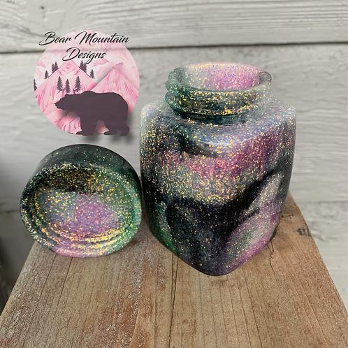 Galaxy Square Jar