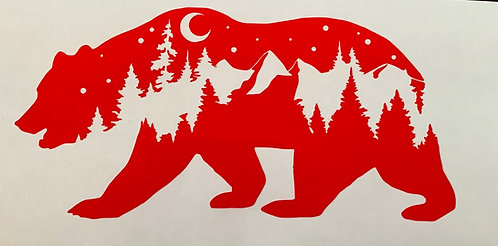 Bear Mountain Decal