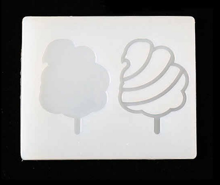Cotton Candy Shaker Mold