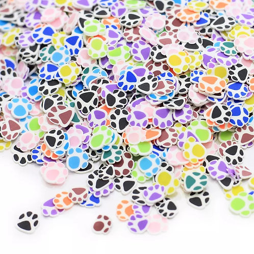 Paw Print - Clay Sprinkles