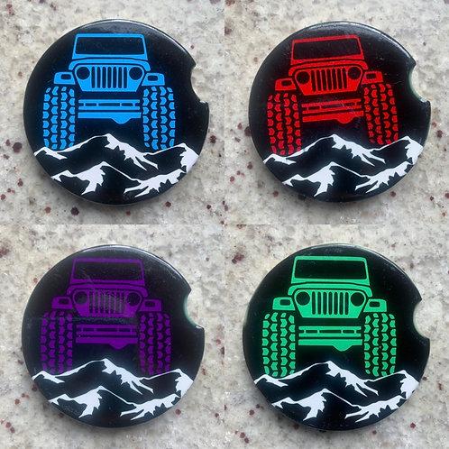 Jeep Car Coasters